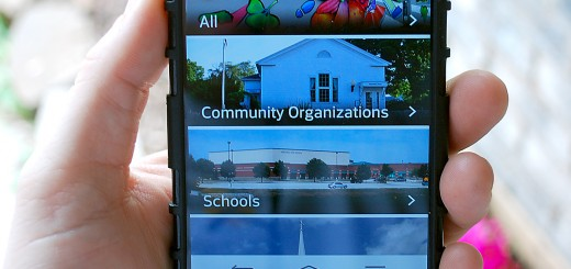The Westfield app is available for iPhone and Android users. (Staff photo)