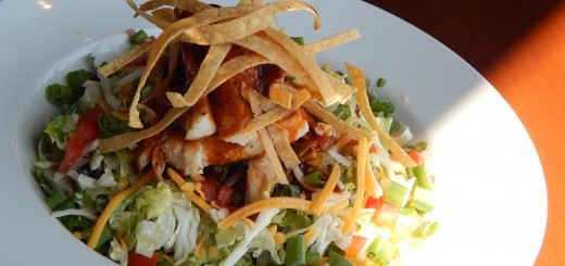 The Southwest Chicken Chopped Salad with Chipotle Ranch Dressing that's available at Henry's Pub and Grill. (Submitted photo)