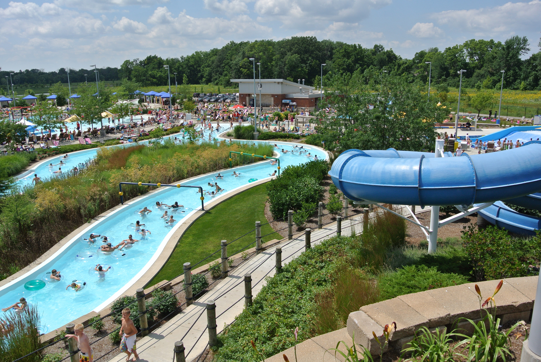 Image result for monon center water park