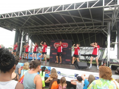 The Indianapolis Disney Road crew enjoys engaging audience members of all ages through song and dance. (Submitted photo)