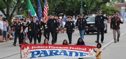 Beginning of Parade