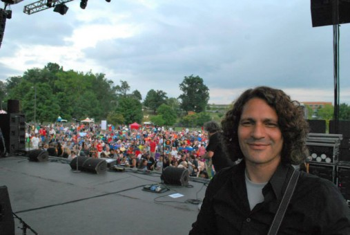 Guitarist Benito DiBartoli hopes to land a gig as American rock artist Eddie Money's guitarist. (Submitted photo)