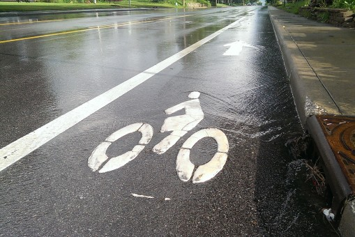 The City of Carmel will not mandate the creation of new bike lanes, just include the potential for them whenever roads are repaved or reconstructed. (Staff photo)
