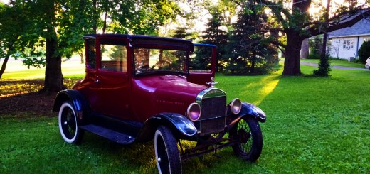 Ahlrich's original Model T still runs more than half a century after his grandfather purchased it. (Submitted photo)