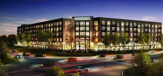 Ruth's Chris Steak House will occupy portions of two floors of the Ironworks building at 86th Street and Keystone in Indianapolis. (Submitted rendering)