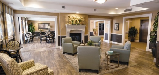 he Grand Parlor at the new Meadow Brook Senior Living Community in Fishers. (Submitted photo)