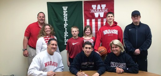 Tyler Osswald has committed to play collegiate basketball at Wabash College. Osswald played basketball all four years at Westfield and earned letters his sophomore, junior and senior years. As a senior, Osswald led the team in scoring and earned HCC All-Conference Honors and Academic All-State Honors. At Wabash, Osswald plans to major in economics.