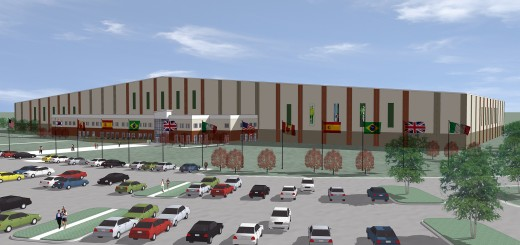 Plans for a new indoor soccer facility were unveiled at the Grand Park Grand Opening. (Submitted rendering)
