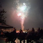 Residents can watch the Lights over Morse fireworks from the land or water.