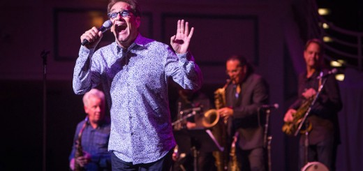 Huey Lewis & The News entertained a full house at the Palladium June 11. (Staff photo by Sara Crawford)