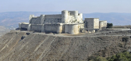 Crac des Chevaliers near Homs, Syria. (Photo by Don Knebel)