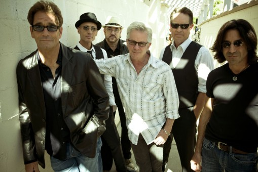 Huey Lewis (vocals and harmonica), Johnny Colla (saxophone, guitar and vocals), Bill Gibson (drums, percussion and vocals), Sean Hopper (keyboards and vocals), Stef Burns (guitars and vocals) and John Pierce (bass); along with their long-time horn section of San Francisco bay area luminaries: Rob Sudduth (tenor saxophone), Marvin McFadden (trumpet) and Johnnie Bamont (baritone saxophone) will play at the Palladium June 11. (Submitted photo)