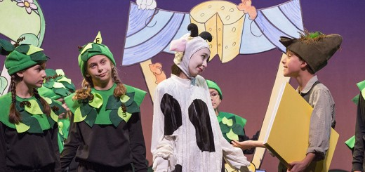 "The young actors of the Junior Civic program will provide a new take on the classical Disney story when they perform ""My Son, Pinocchio Jr."" (Submitted photo by Zach Rosing)"