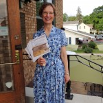 Wendy Phillips, Director of the Carmel Clay Library, greeted guests