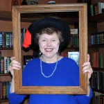 Ginny Terpening, a volunteer with the Carmel Clay Historical