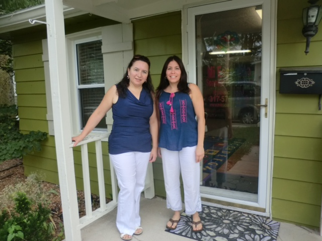 Giovina Cecili and Vicky Rodriguez run the Spanish immersion preschool Mi Escuelita in downtown Carmel. (Submitted photo)