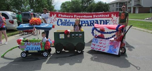 CIF-COM Freedom festival kids parade