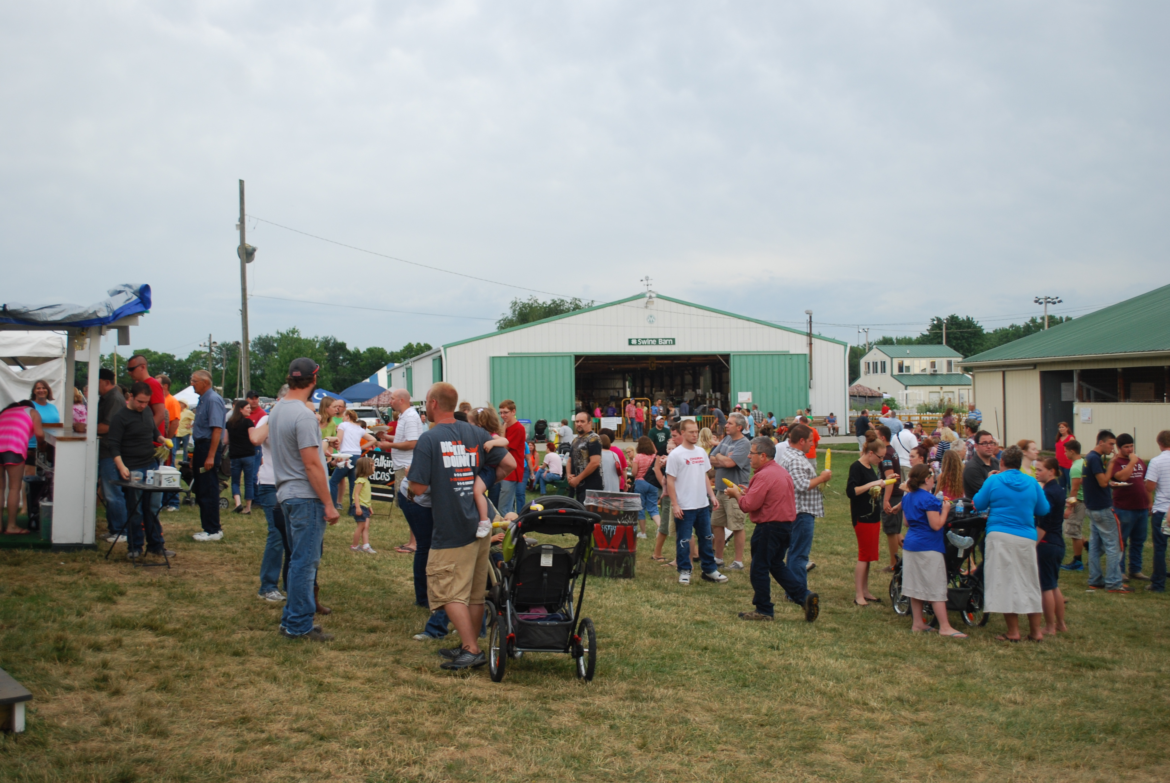 Hamilton County officials estimate that 15,000 to 20,000 people attend the annual 4-H Fair. The number is weather dependent; too hot or stormy and numbers are down. (File photo)