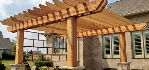 A properly planned pergola can offer relief from the sun as even the columns and posts contribute to the shade. (Submitted photo)