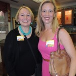 Sharon Hunt and Amanda Massey attended the dinner and award ceremony. (Staff photo by Tonya Burton)