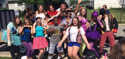 """he teenagers involved in the performance of """"Godspell"""" said it's a chance to gain insight into biblical characters. (Submitted photo)"""