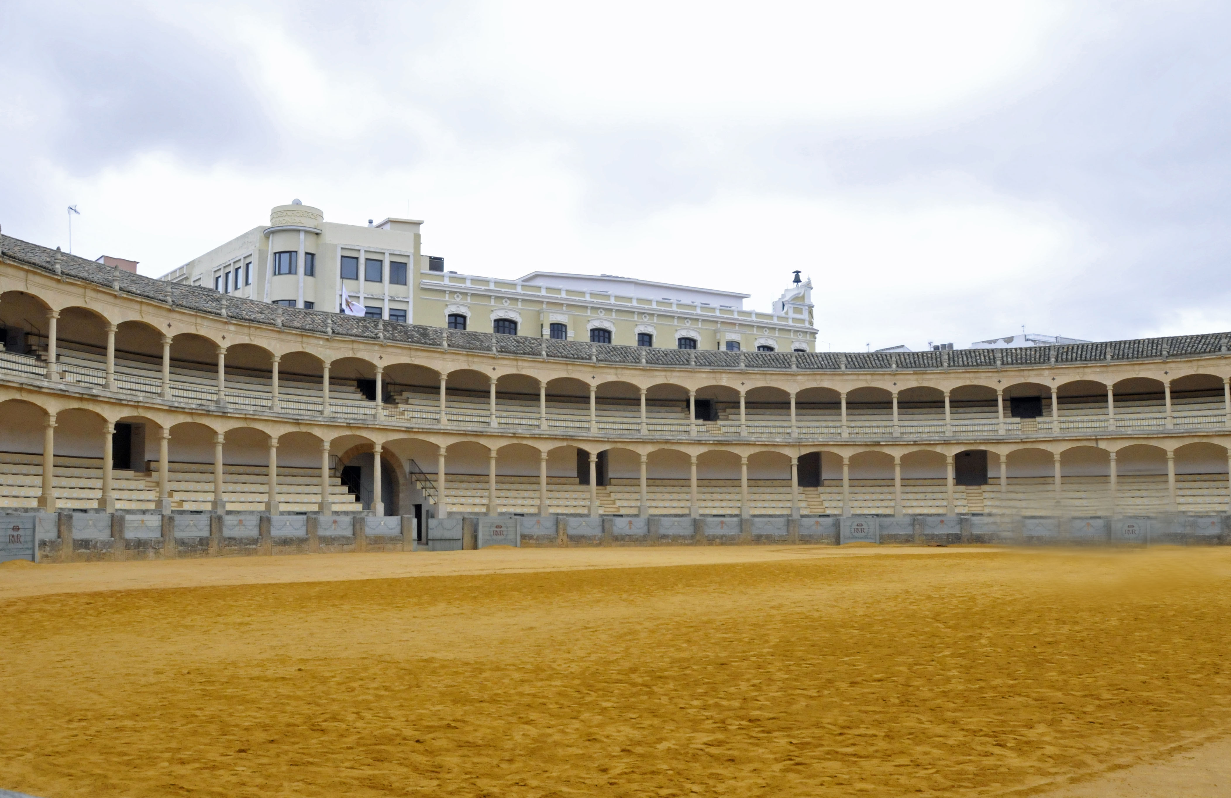 Eighteenth-century Bullring in Ronda, Spain (Photo by Don Knebel)