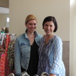 14 Districts Manager Madison Hromadka and owner Rebecca Hanson sold casual summer clothing at the Love Local event on June 26. (Staff photo by Tonya Burton)