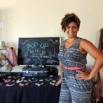 Cheri McDowell from Retro 101 displayed vintage purses, fashion jewelry and other items. (Staff photo by Tonya Burton)