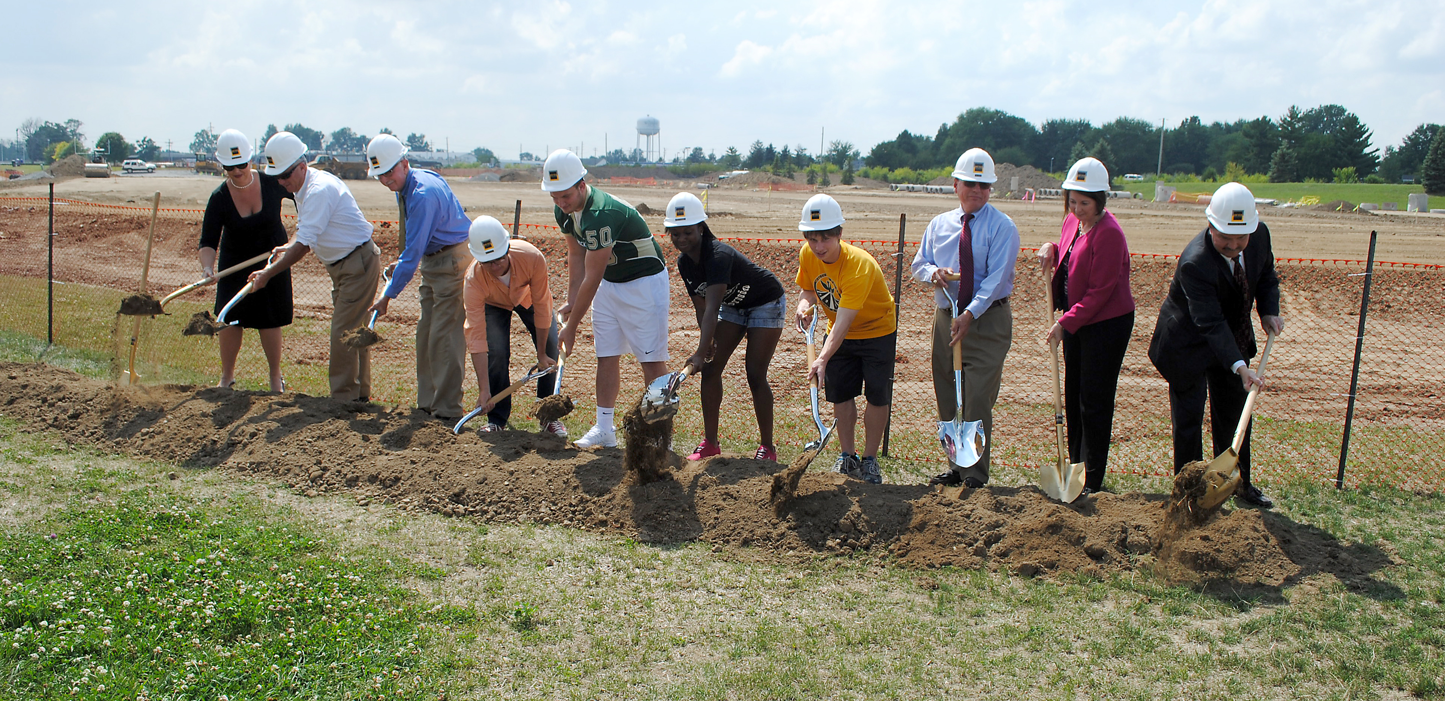 Construction begins at new Westfield High School stadium