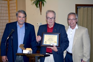 From left: Craig Cooley, Bob Benson and Jeff Larrison