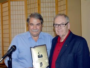Craig Cooley, left, and Bob Benson