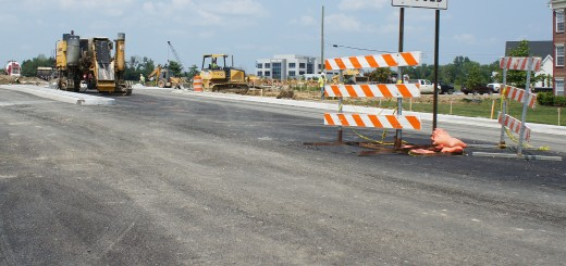 Construction on U.S. 31 has affected nearby businesses (Photo by Mitch Zheng)