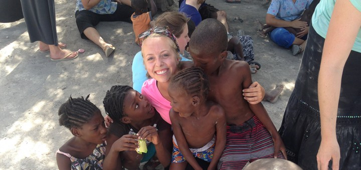 Westfield teen Abby Bogdajewicz visited Haiti last month as part of a mission trip with Merge, the youth group at Grace Church. (Submitted photo)