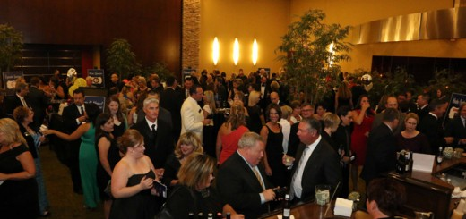 Guests mingle inside the Renaissance Hotel, 11925 N. Meridian St., Carmel, during the cocktail hour.