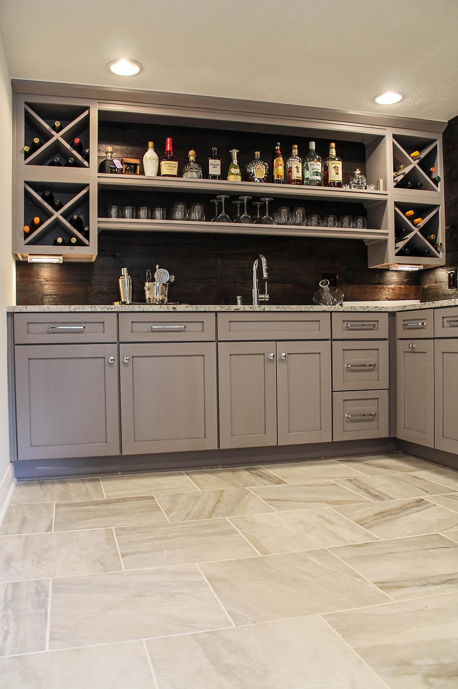 column: ways to store, showcase wine collection