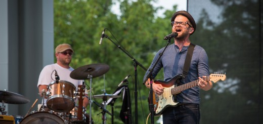 Josh Kaufman performs at the State Fair earlier this month. (Photo by Sara Crawford)