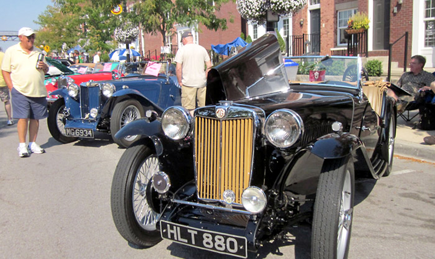 Main Street will be packed with vintage and modern cars during Artomobilia this Saturday, Aug. 23, from noon until 5 p.m. (File photo by Brian Bosmer)