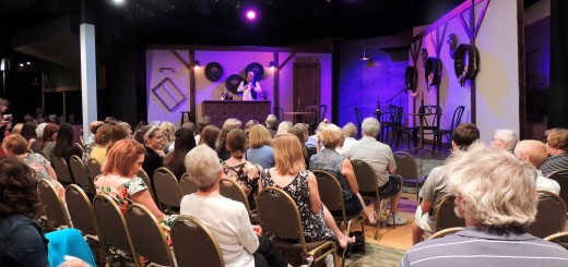 Carmel Community Theater, staffed entirely by volunteers, is an intimate 120-seat venue located in Clay Terrace Shopping Mall.