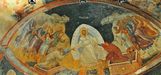 Fresco in Chora Church Depicting the Resurrection. (Photo by Don Knebel)