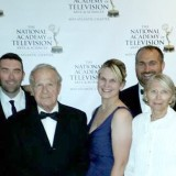The creative team behind Misa's Fugue at the regional Emmy Awards. (left) James Hollenbaugh (Cinematographer), Jamye Gaston (Production Assistant), Sean Gaston (Director), Frank Grunwald, Jennifer Goss (Producer), Matthew Goss (Principal Photographer), Barbara Grunwald, Zachary Houp (Screenwriter),Jennifer Houp. (Submitted photo)