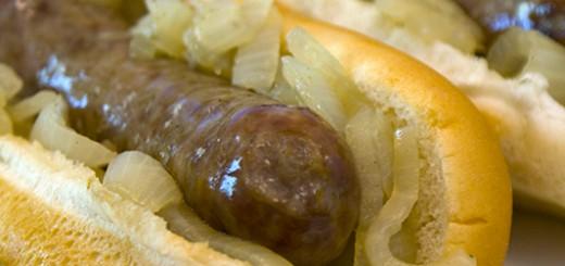 Wisconsin Bratwurst Sandwiches