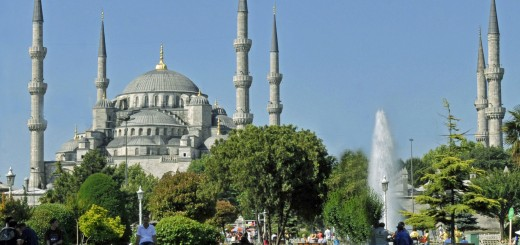 The Blue Mosque in Istanbul, Turkey (Photo by Don Knebel)