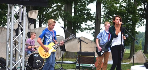 Midnight Run, a Fishers band, during a recent concert. (Submitted photo)