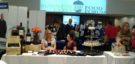 The first Fishers Chamber of Commerce Business Expo & Food Forum in 2013 had a larger than anticipated turnout.