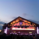 The Fishers Wind Symphony recently performed at the Fishers Nickel Plate Amphitheater.