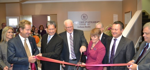 The former Prudential Realty office at 8402 E. 116th St. in Fishers became a Berkshire Hathaway office on Oct. 8. (Photo by John Cinnamon)