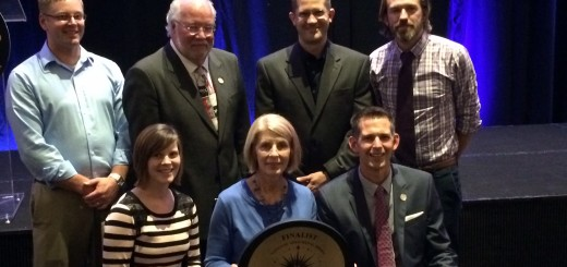 Senior staff members of the Carmel Clay Parks & Recreation department hold their gold medal. The group was in North Carolina this week to attend the 2014 National Recreation and Park Association Congress. (Submitted photo)