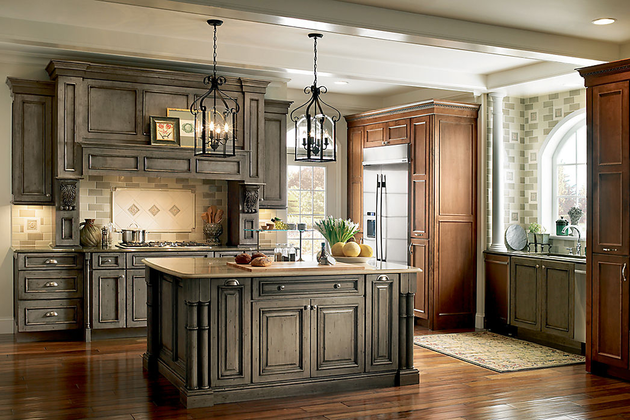 Column Colorful Cabinets Are Back In Style