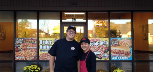 Chris and Jeanette Gallardo are the new owners of Noble Romans in Zionsville. (Submitted photo)