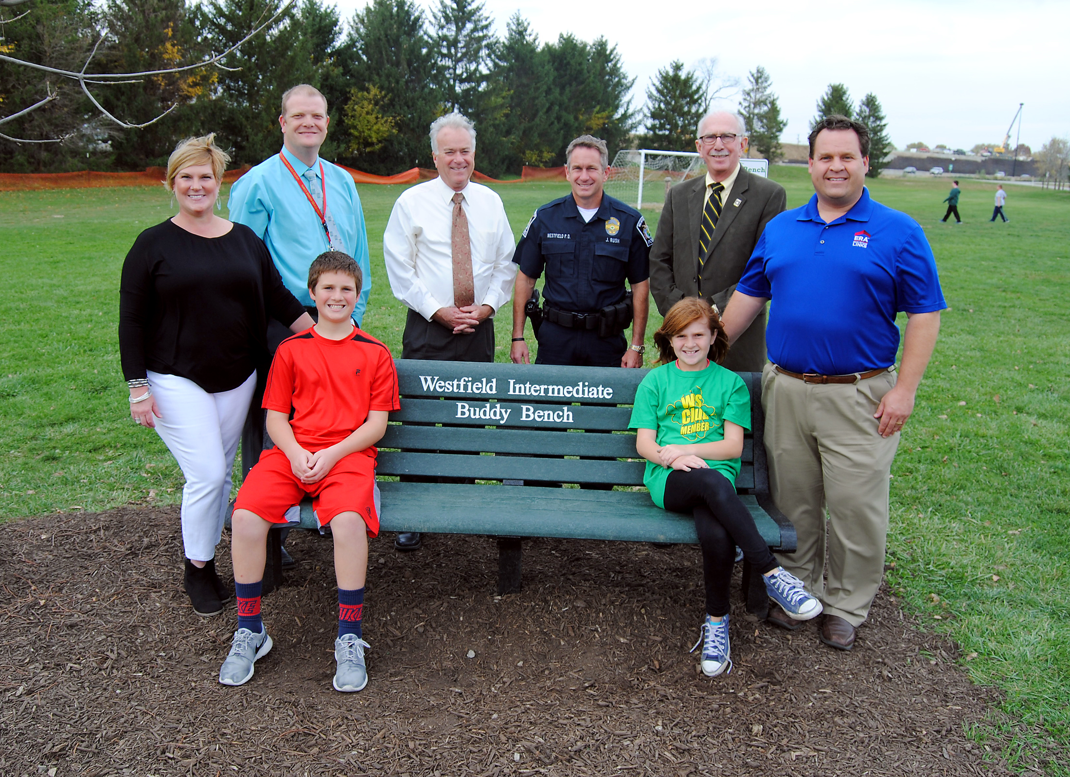 Family creates safe area with Buddy Benches at Westfield Washington Schools